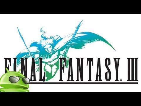 Final Fantasy lll para android ( descargar e instalar apk en español