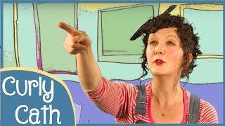 Wind The Bobbin Up | Nursery Rhyme | Curly Cath