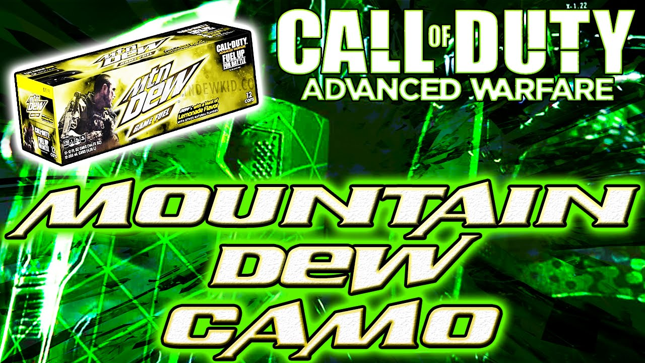 Get exclusive mountain dew exo suit amp double xp in advanced warfare
