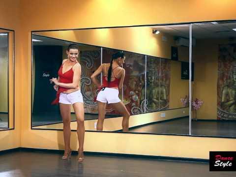 Уроки танца латина - видео