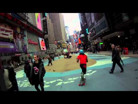 Bustin Longboards NYC Presents The One Love Expo Skate part 1