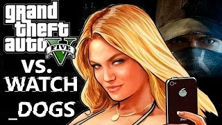 GTA 5 или Watch_Dogs? ЛУЧШАЯ ИГРА ГОДА