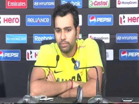 Rohit Sharma Post-Match Press Conf, Ind v Pak, Colombo, T20 Practice Match, 17/9/2012