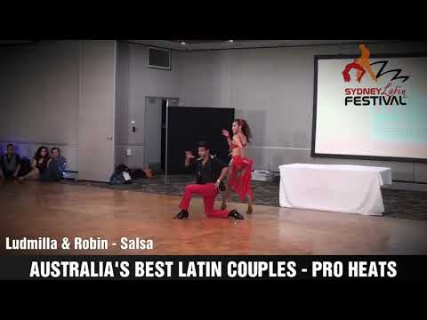 AUSTRALIA'S BEST LATIN COUPLES - LUDMILLA & ROBIN