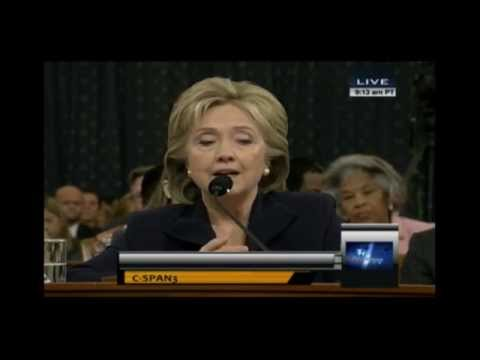 Hillary hits back at the Benghazi Committee...