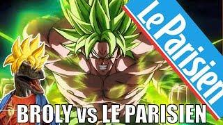 BROLY vs LE PARISIEN - Des têtes de reptiles ?