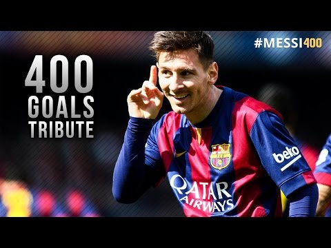 Lionel Messi ● 400 Goals for Barcelona - Tribute Video | HD