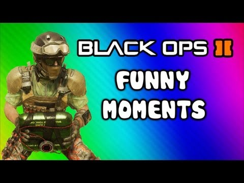 Black Ops 2 Funny Moments - Bouncing C4, Epic Poo, Floating Plant Glitch (Funtage) + Thanks Q&A