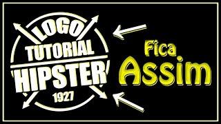 🔴Como Criar Logo Hipster no Android