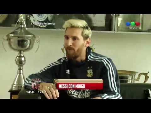 El divertido y emotivo encuentro entre Minguito y Messi