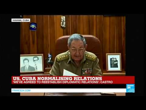 REPLAY - Raul Castro's speech on historic reconciliation between Cuba and the US