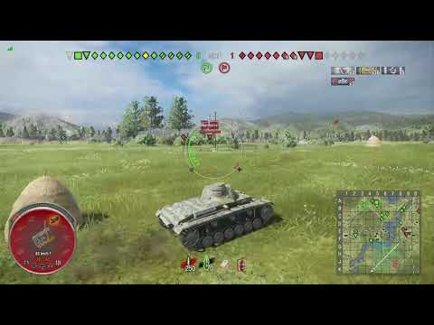 World of Tanks Xbox one Pz.Kpfw. III Ausf. E 5 Kills  (M)