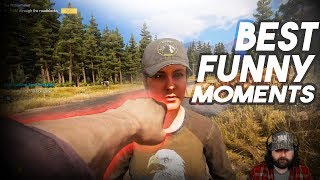 Far Cry 5 Madness - Best Funny Moments  (Compilation) !