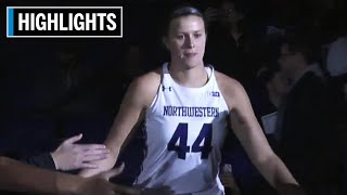Highlights: Dartmouth at Northwestern | B1G Women's Basketball | Dec. 7, 201