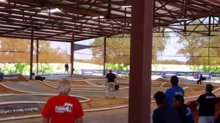 E-buggy and truggy racing at Thornhill racing circuit in Hutto, Tx