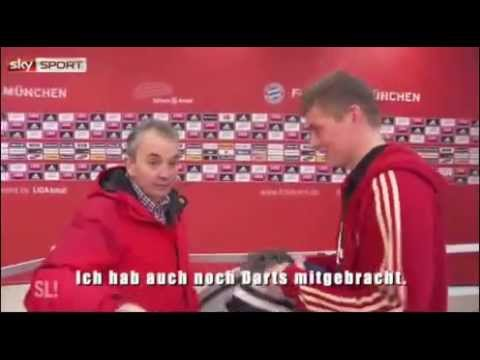 Toni Kroos & Philipp Lahm Speaking English