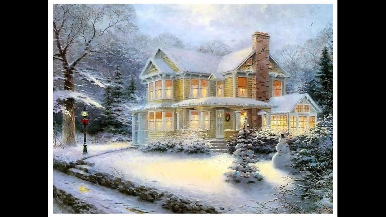 Art Painting Snow Scenes