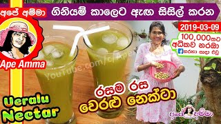 Cooling drink Veralu nectar by Apé Amma