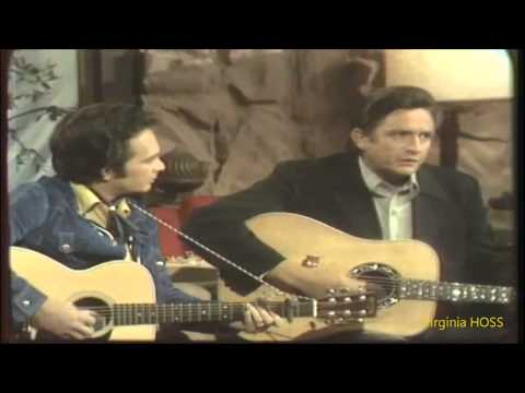 Merle haggard & Johnny Cash... Sing Me Back Home (VIDEO)