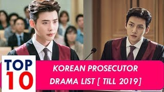 Korean Prosecutor Drama - Top 10 List