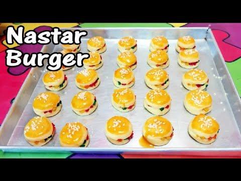 Cara Membuat Nastar Burger Lucu Unik Cocok Untuk Lebaran