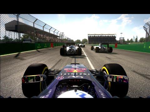 F1 2014 - BEAST 6 CAR OVERTAKE | Daniel Ricciardo, Australian GP, PS3 Gameplay (Legend Ai)