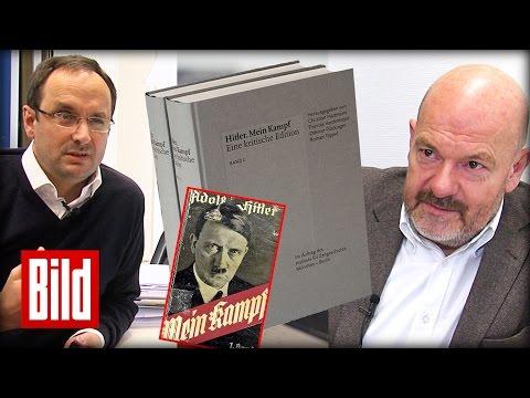 """Adolf Hitlers """"Mein Kampf"""" - Hetzschrift ist unmöglich zu lesen - Eine Kritik"""