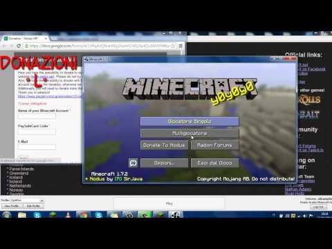 Minecraft Tutorial: Come installare la Nodus (Hack Client) 1.7.2-1.7.10 [Semplic