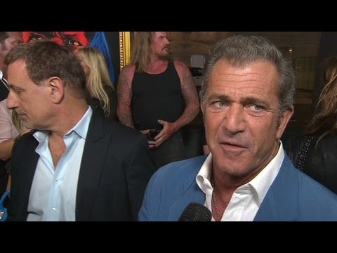 "Raw: Mel Gibson says ""Machete"" is ""shamele..."