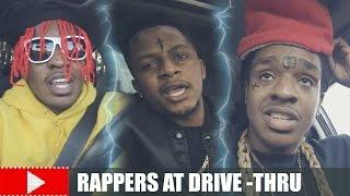 download lagu Rappers At The Drive-thru gratis