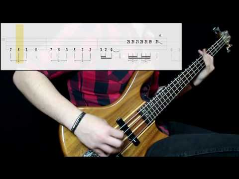 Yes - Roundabout (Bass Cover) (Play Along Tabs In Video)