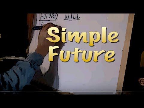 INGLES. 15- SIMPLE FUTURE (WILL). Futuro simple. Inglés para hablantes de español. Tutorial