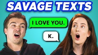 Download Lagu COLLEGE KIDS READ 10 SAVAGE TEXTS (REACT) Gratis STAFABAND