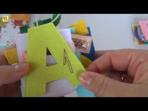 Фетровый алфавит. Ручная работа