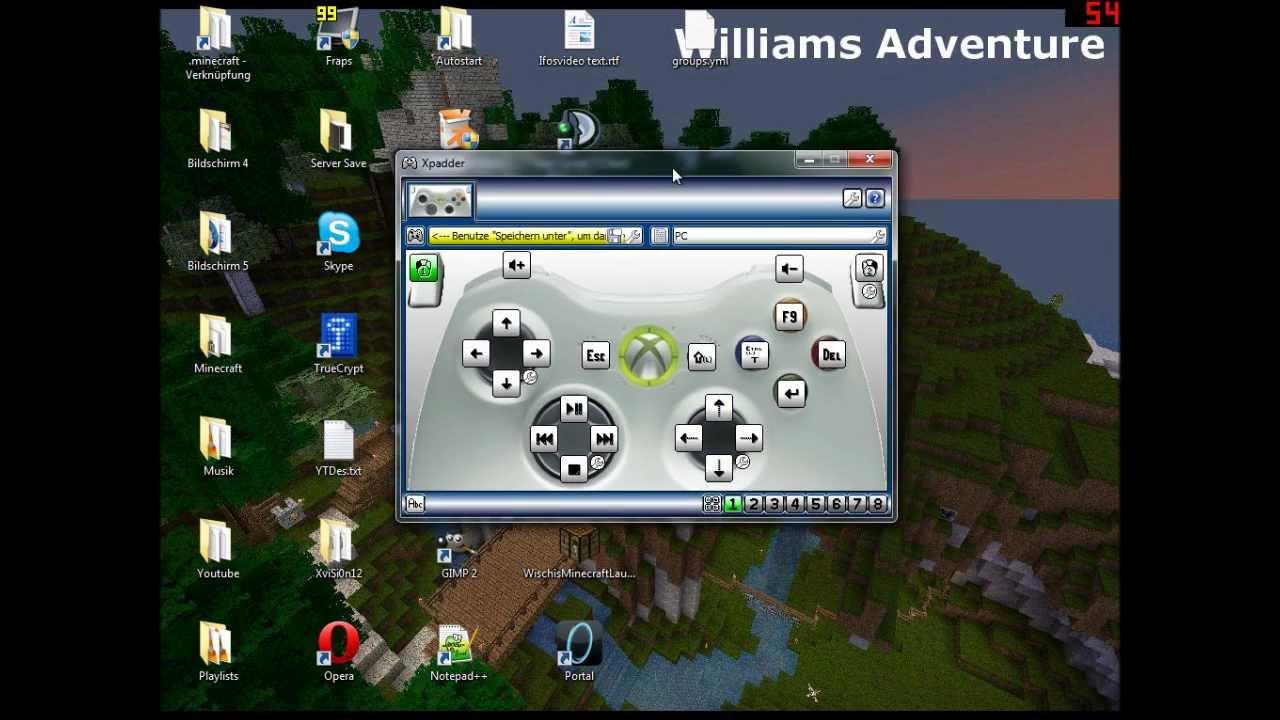 Minecraft Mit Xbox Controller Spielen Windows Spiele Wie - Minecraft controller spielen pc