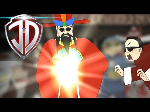 Oppa Cai Shen Dao - Gangnam Style Chinese New Year Parody  
