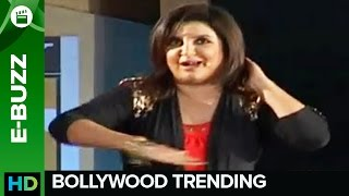 Farah Khan Dances To The Tunes Of New