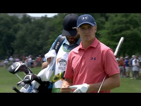 Jordan Spieth records first birdie of Round 3 at AT&T Byron Nelson
