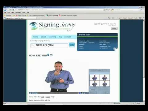 Learn ASL American Sign Language Dictionary Website Review