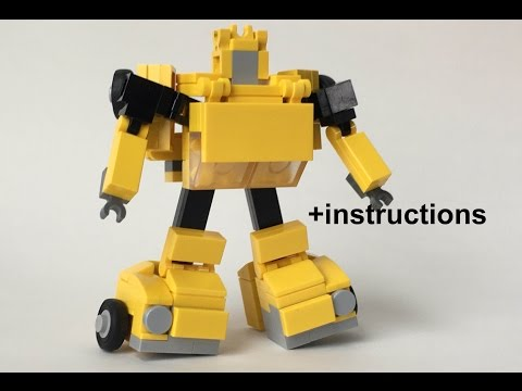 Lego Transformers G1 Bumblebee review