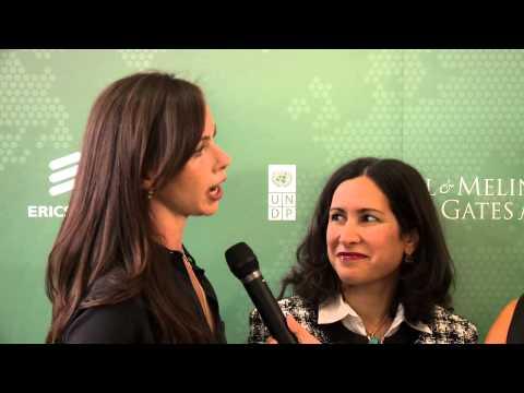 Barbara Bush and Patty Mechael: 2013 Social Good Summit
