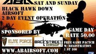 NC Airsoft Tournaments-  Black Hawk Down 2014 @ Adventure Beach Airsoft ☺ Tha Happy Sloth ☺