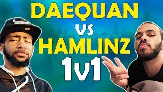 DAEQUAN VS HAMLINZ | PLAYGROUNDS 1v1 - (Fortnite Battle Royale)