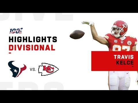 Travis Kelce's MONSTER Day vs. Texans   NFL 2019 Highlights