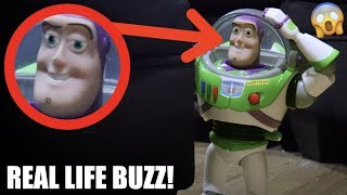 I FOUND BUZZ LIGHTYEAR IN REAL LIFE! *He Trapped Us!*
