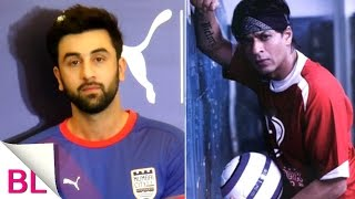 Shah Rukh Khan is a great football player, says Ranbir Kapoor