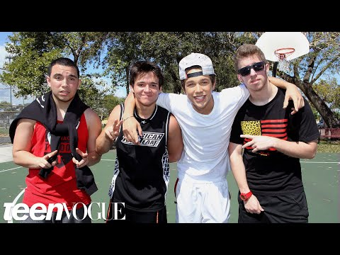 Hanging Out With Austin Mahone And the Foolish Four -- Besties: Bromance Edition -- Teen Vogue video