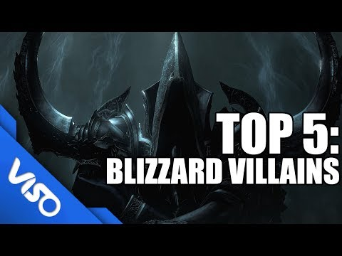 Top 5: Blizzard Villains