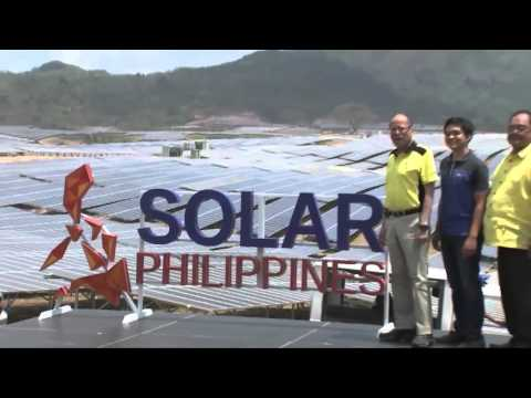 Inauguration of the Calatagan 63.3 MW Solar Farm 3/16/2016