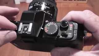Nikon F501 AF 35mm SLR Film Camera Overview / Review